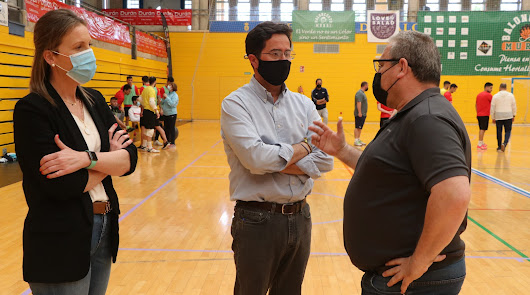 Francisco Góngora anima a la familia del CD El Ejido Futsal