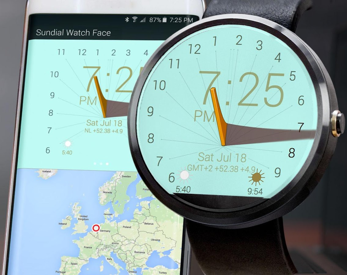 Sundial Watch Face- screenshot