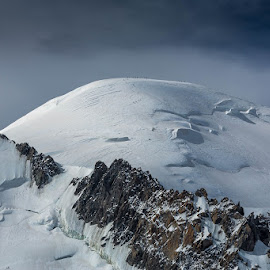 Le Mont Blanc by Strange Jazzy - Landscapes Mountains & Hills ( montblanc#france#savoie#neige #,  )