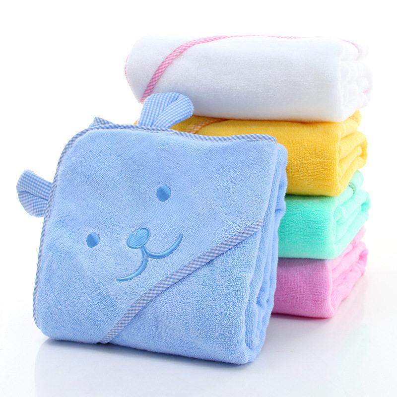 Baby Towel With Animal Shape Hoodie