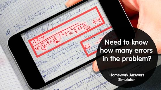 Homework Answers ? Simulator - náhled