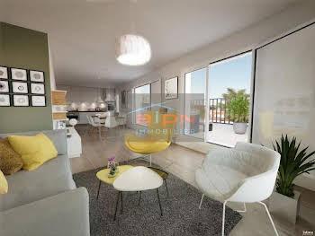 Appartement 3 pièces 74,92 m2
