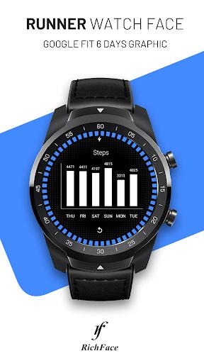Runner Watch Face screenshot