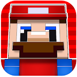 Super Hero Pixel Toy Run Icon