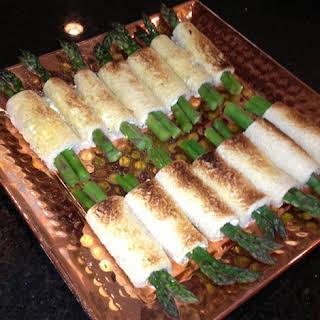 Asparagus Bacon Roll-Ups.
