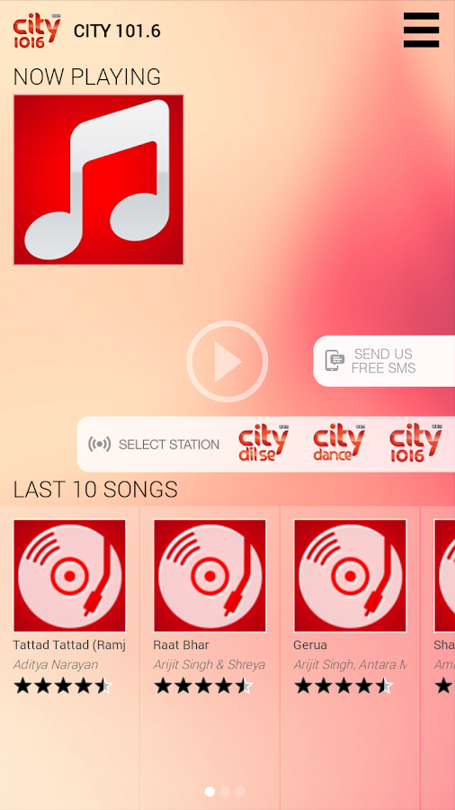 City 101.6- screenshot