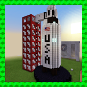 ARES-I – MISSION TO MARS. MCPE map