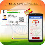 Free Link Aadhar Card with Mobile Number Online Icon