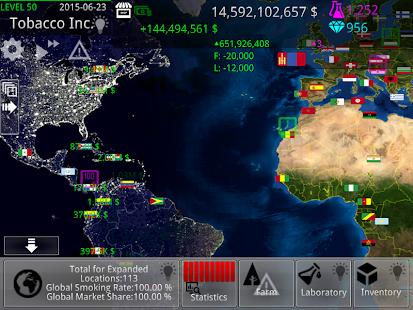 Tobacco Inc. - screenshot