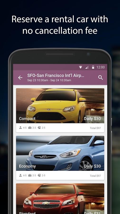 Expedia Hotels, Flights & Cars - screenshot