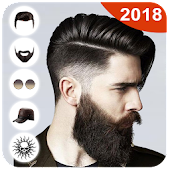 Man HairStyle Photo Editor 2018