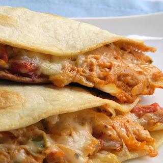 Cheesy Chicken Quesadillas.