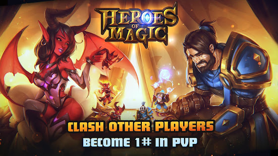 Mod Game HEROES OF MAGIC for Android