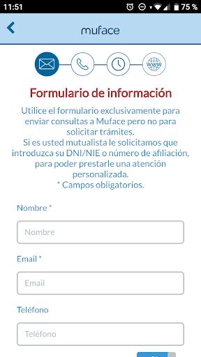 Muface Móvil screenshot 5