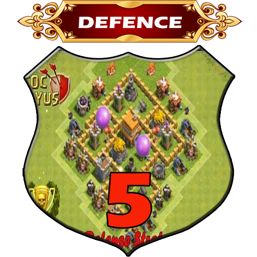 Town Hall 5 Defence Base Layouts