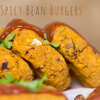Spicy Bean Burgers - easy and delicious.