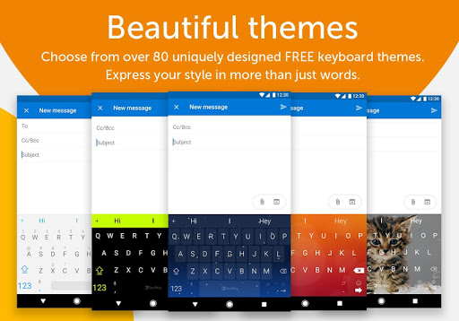SwiftKey Keyboard app (apk) free download for Android/PC/Windows screenshot