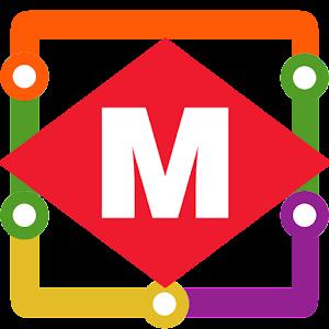 Bari Metro Map Bari Metro Map Simple display of Bari Metro