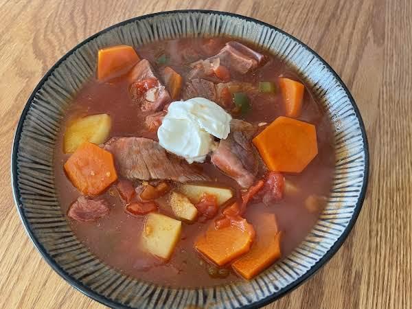 Rib Eye Stew