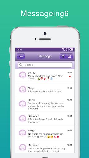 Messaging+ SMS, MMS Free screenshots 2