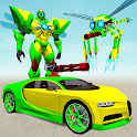 Flying Dragonfly Robot Car Transformation icon