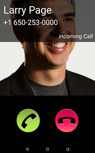 Fake Call 1.1 screenshots 7