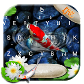 Live 3D Koi Fish Keyboard Theme Android APK Download Free By Love Cute Keyboard