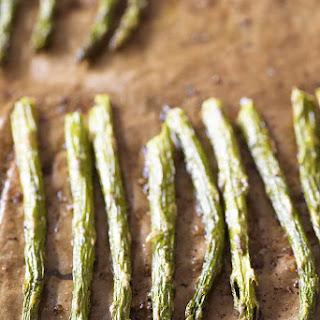 Garlic Butter Roasted Asparagus Recipe