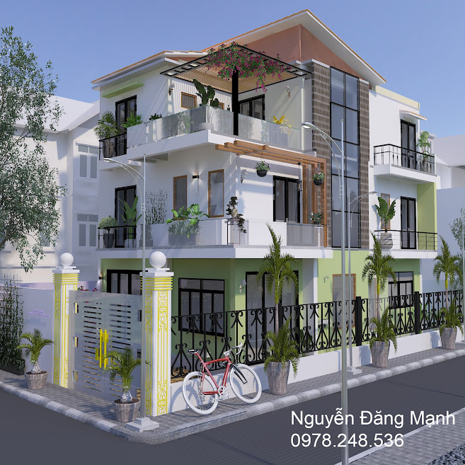 Thiết kế ngoại thất tại Thanh Trì