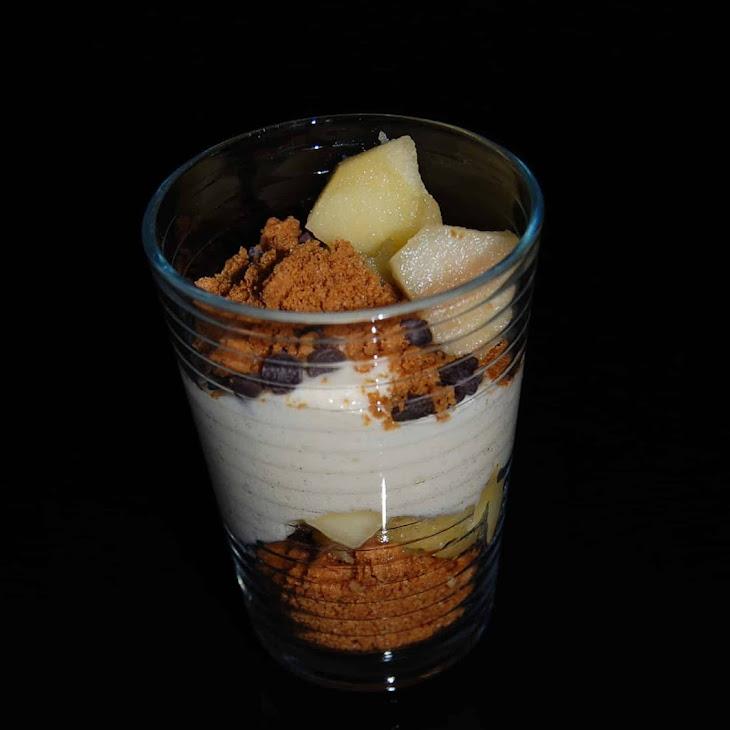 Gingersnap and Apple Verrines Recipe