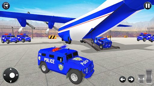 Grand Police Transport Truck screenshot 4