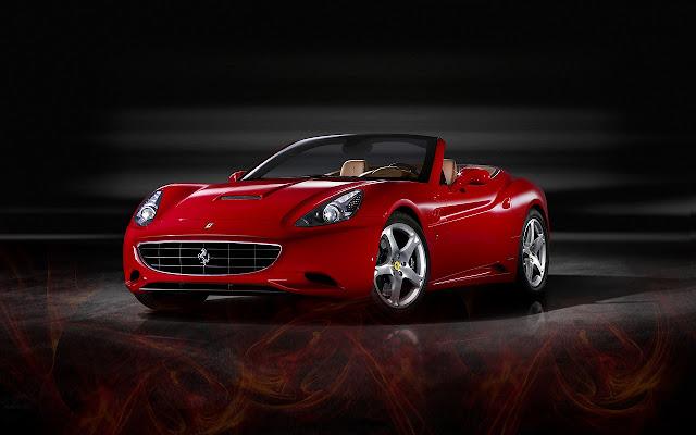 Ferrari California Red 2