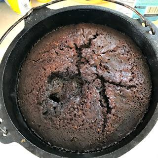 Dutch Oven Chocolate Lava Cake Recipe