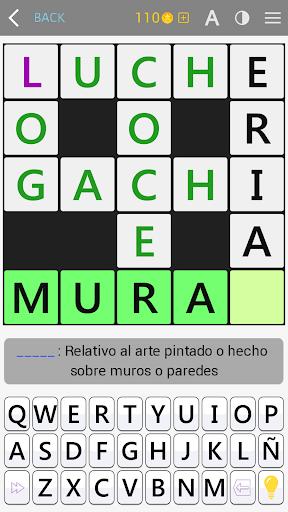 Crosswords - Spanish version (Crucigramas) 1.1.4 screenshots 3