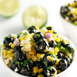 Blueberry Corn Salad.