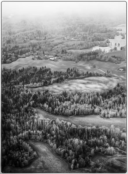 Photo: Farmland - Just after takeoff from Gardermoen