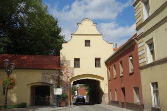 Photo: brána v Glogowku