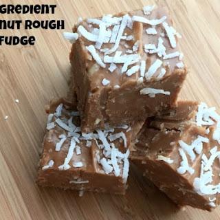 3 Ingredient Coconut Rough Fudge Recipe