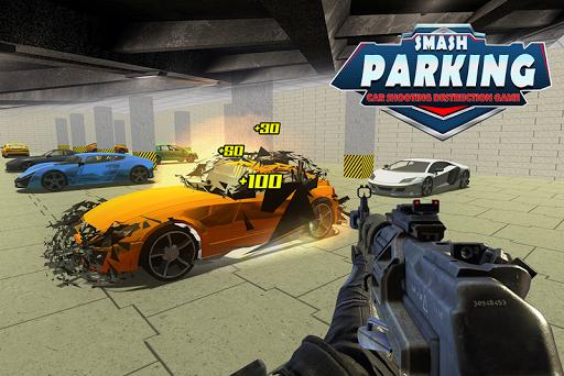 Smash Parking Car Shooting Destruction game 1.0 screenshots 3