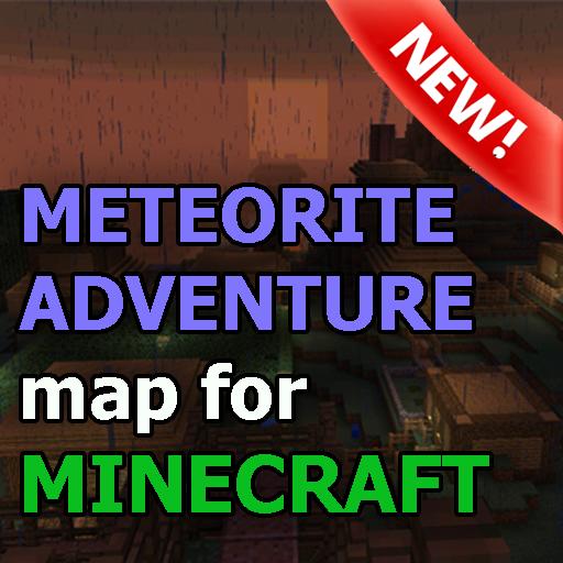 隕石地圖MCPE 娛樂 App LOGO-硬是要APP