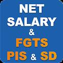 Net Salary CLT 2016 & CEF icon