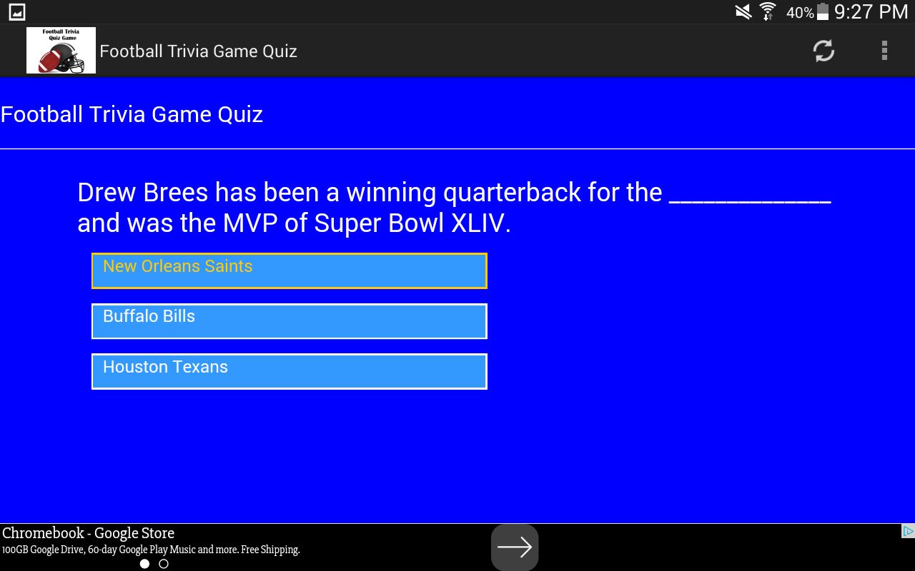Football Trivia Game Quiz- screenshot