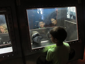 "Photo: Kids having fun with the ""Lunar Laboratory"" Sampler"
