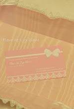 Photo: Fleur de Lys blanc様がショップカード