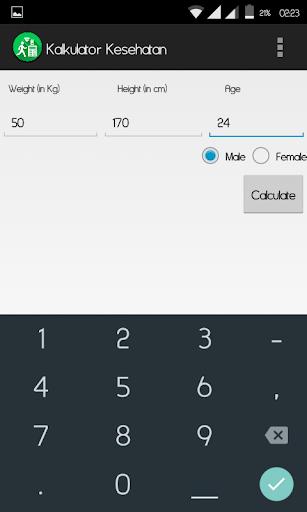 Kalkulator Kesehatan