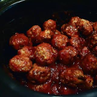 Crock-Pot Cocktail Meatballs.