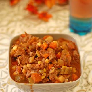 Crockpot Gluten Free Vegetable Soup