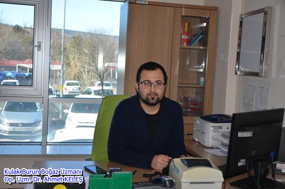 Çankırı Haber18 - Kulak Burun Boğaz Uzmanı Op. Uzm. Dr. Ahmet KELEŞ