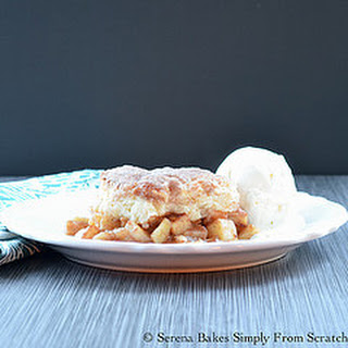 Apple Pie Cobbler Skillet