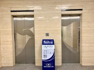 フリースペース・類入り口エレベーター